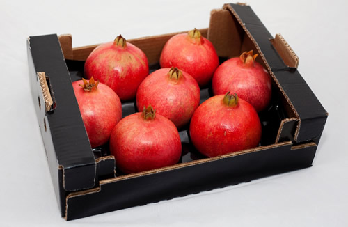 pomegranate 7 pcs in cardboard
