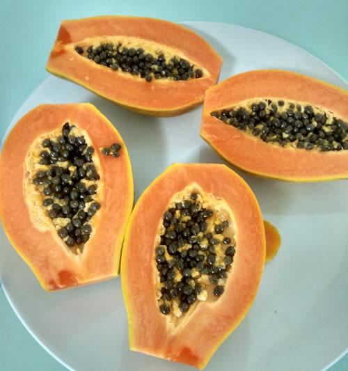 nice fiji papaya